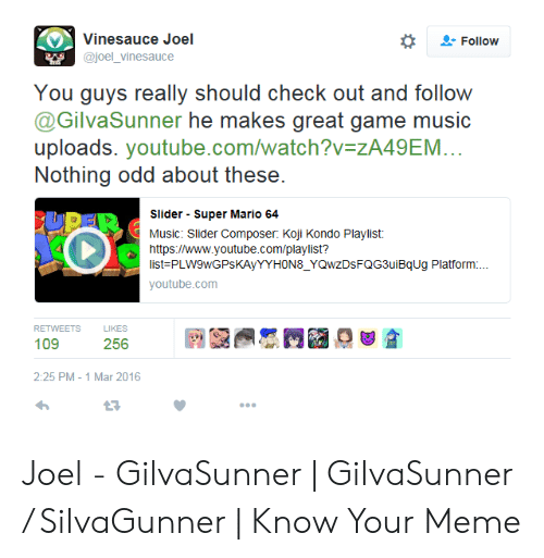 Vinesauce Joel Follow You Guys Really Should Check Out and