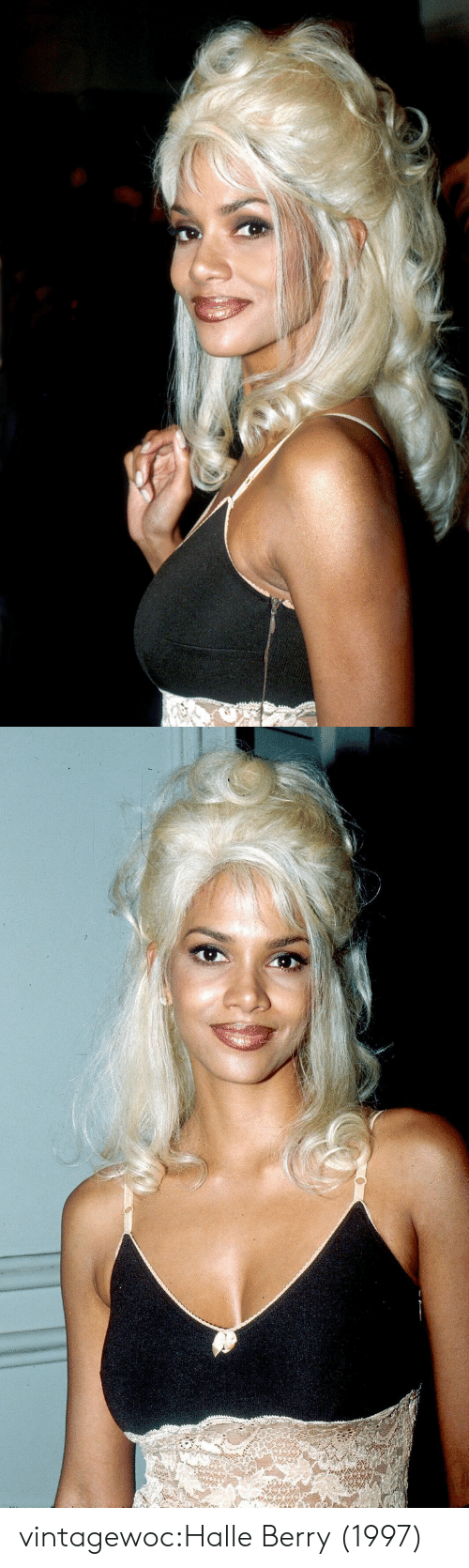 Tumblr, Blog, and Halle Berry: vintagewoc:Halle Berry (1997)