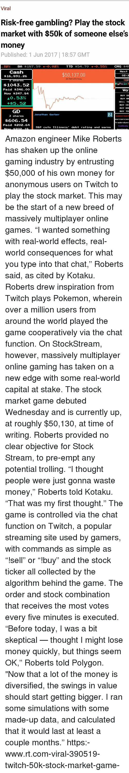Are you investing or gambling