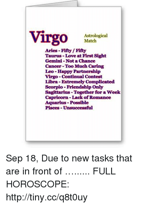 Virgo and friendship