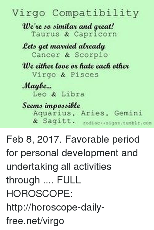 Is an aquarius compatible with a virgo