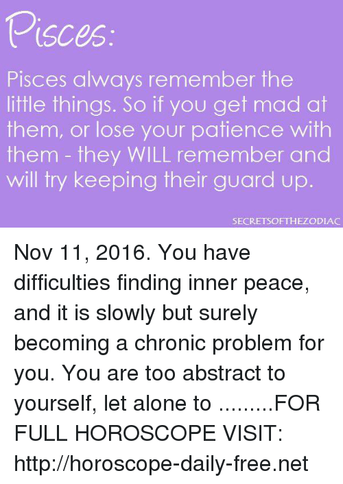 Visces Pisces Always Remember the Little Things So if You