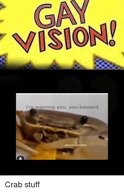 VISION I'm Warning You You Bastard | Vision Meme on ME ME