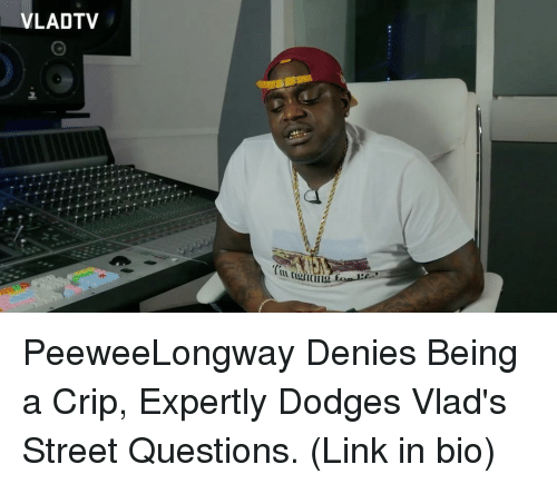 VLADTV PeeweeLongway Denies Being a Crip Expertly Dodges Vlad's