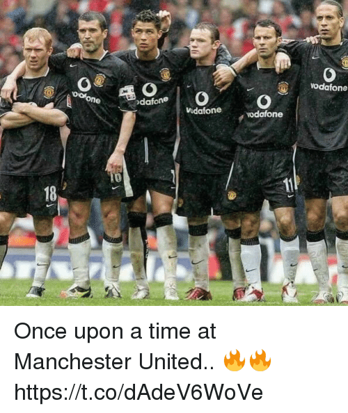 Soccer, Manchester United, and Once Upon a Time: vodafone  dafone  idafone  vodafone  18 Once upon a time at Manchester United.. 🔥🔥 https://t.co/dAdeV6WoVe