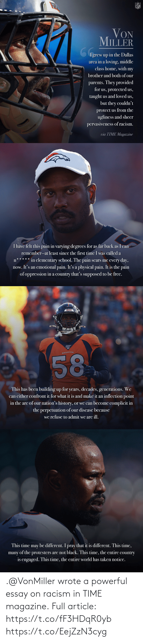 Memes, Racism, and Time: .@VonMiller wrote a powerful essay on racism in TIME magazine.  Full article: https://t.co/fF3HDqR0yb https://t.co/EejZzN3cyg