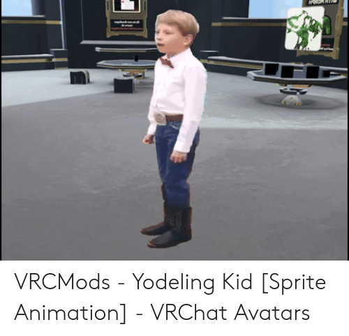 VRCMods - Yodeling Kid Sprite Animation - VRChat Avatars | Animation