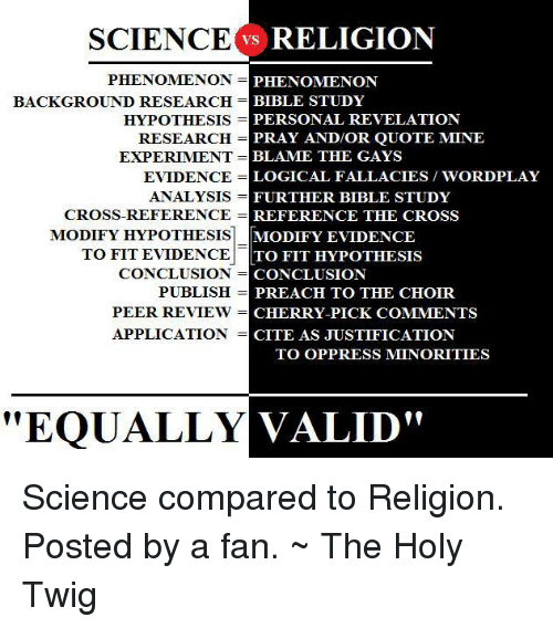 Bible study science and religion