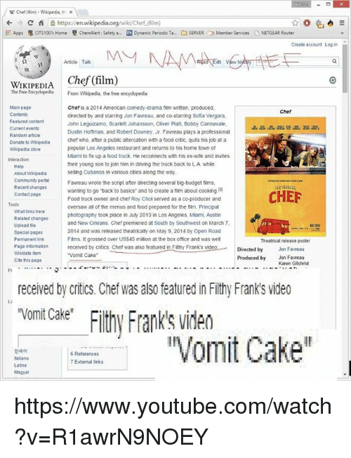 W Chef Film Wikipedia Thi C Fi E Httpsen ...