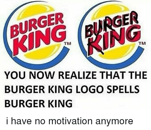 motivation in burger king essay Burger king is the 2nd largest fast-food chain, behind only mcdonald's  so its  mean the staff must be motivated or the process gums up.