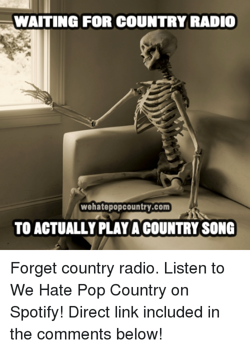 waiting country song