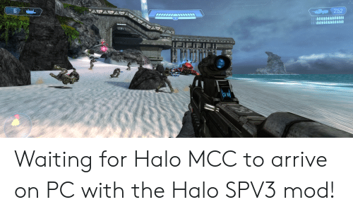 Waiting for Halo MCC to Arrive on PC With the Halo SPV3 Mod! | Halo