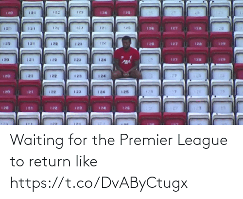 Memes, Premier League, and Waiting...: Waiting for the Premier League to return like https://t.co/DvAByCtugx