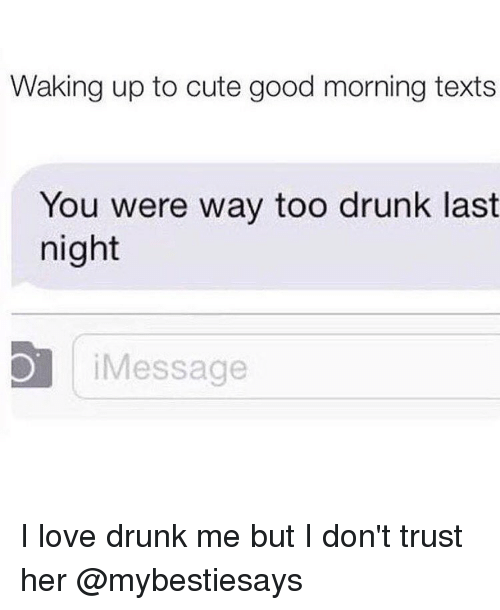 What to text a girl the next day