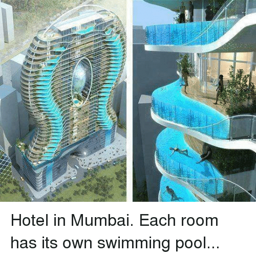 Wal hotel in mumbai each room has its own swimming pool - Hotels near me with a swimming pool ...