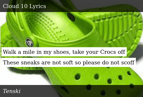 216652e04d9131 Walk a Mile in My Shoes Take Your Crocs Off These Sneaks Are Not ...
