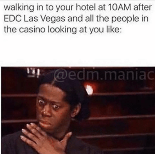 walking in to your hotel at 10am after edc las 17293109 walking in to your hotel at 10am after edc las vegas and all the