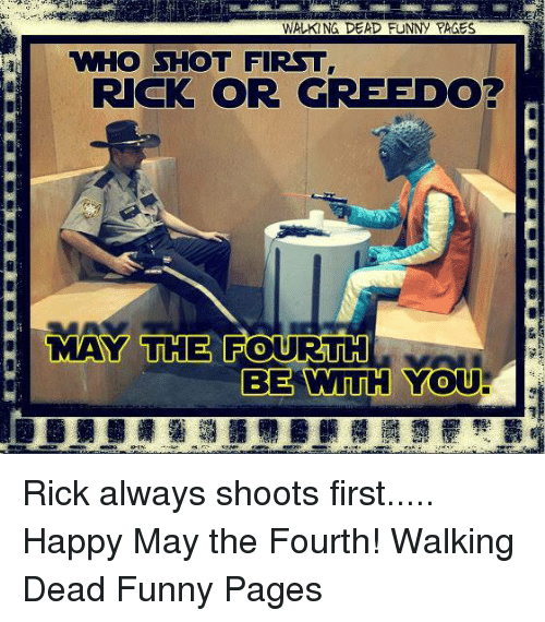 May The 4th Be With You Best: 25+ Best Memes About Walking Dead Funny