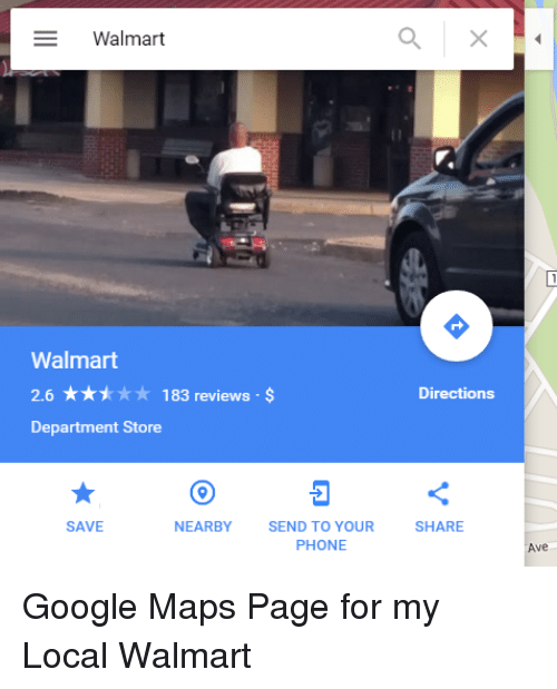 d6c132406a07 Google, Phone, and Walmart: Walmart Walmart 2.6 183 reviews Directions Department  Store NEARBY