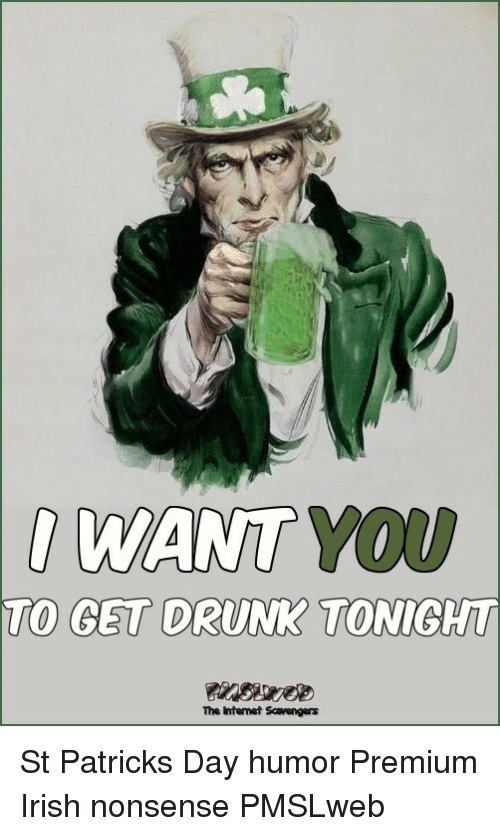 WANT YOU TO GET DRUNK TONIGT the Intenet Scavengers <p>St