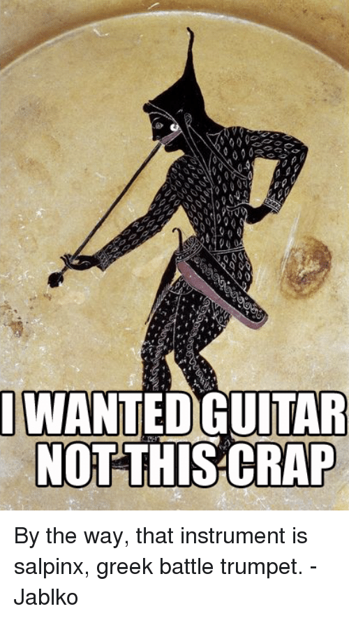 WANTED GUITAR NOT THIS CRAP by the Way That Instrument Is