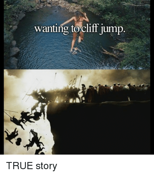 Cyprusball Jump And Cliff Jumping Wanting To Cliff Jump True Story