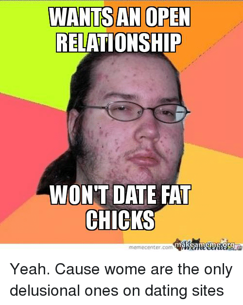 fat chick dating website