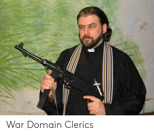 War Domain Clerics | DnD Meme on ME ME
