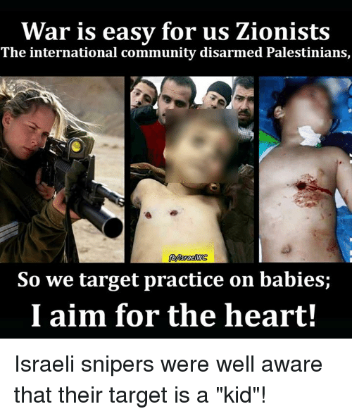 Image result for Zionist baby killers friend of israel