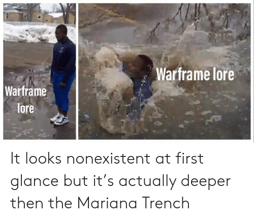 Warframe Lore Wartrame Lore It Looks Nonexistent at First
