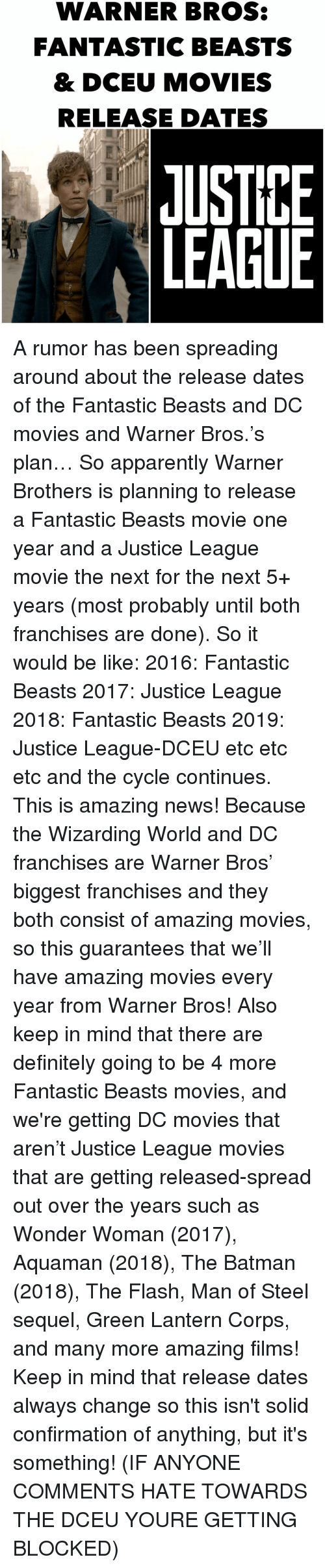 Fantastic beasts release date in Perth