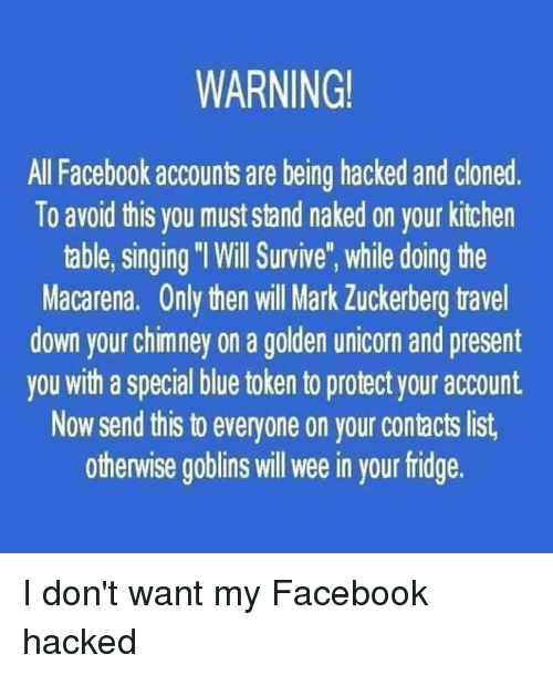WARNING All Facebook Accounts Are Being Hacked and Cloned to