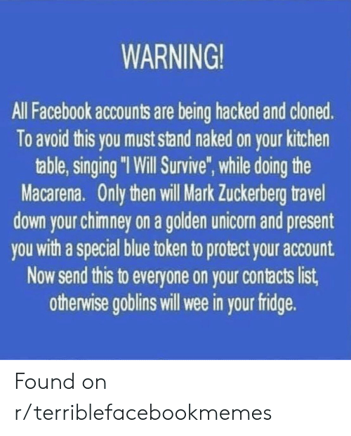 WARNING! All Facebook Accounts Are Being Hacked and Cloned