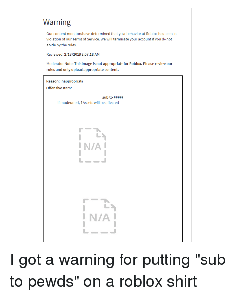 Warning Our Content Monitors Have Determined That Your