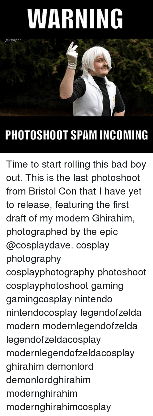WARNING PHOTOSHOOT SPAM INCOMING Time to Start Rolling This