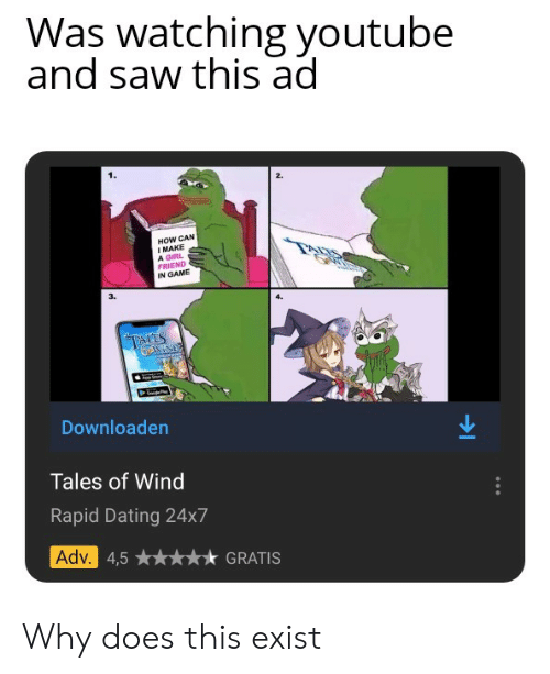 Why do i see dating ads