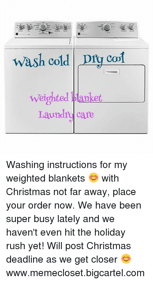Wash Cold Dry Col Weighted Ankeu Laundry Care Washing Instructions