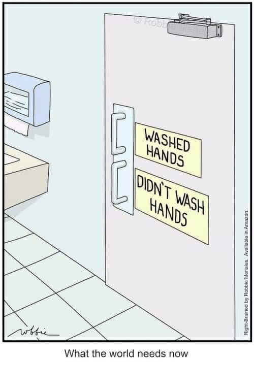 World, The World, and Now: WASHED  HANDS  DNT  NDS  What the world needs now