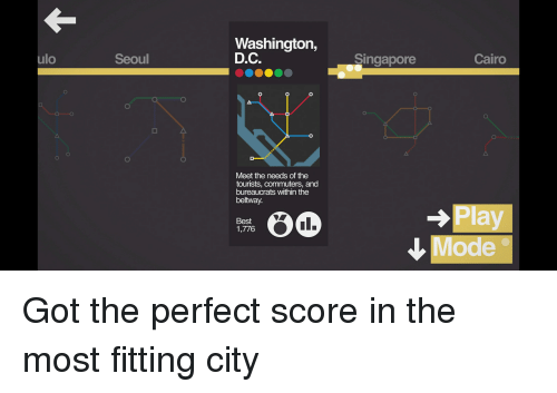 the perfect score play
