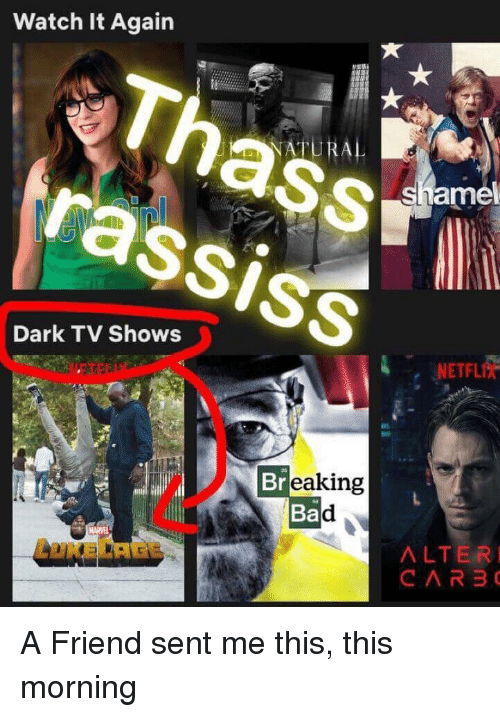 Watch It Again ATURAL Amel Rassis Dark TV Shows NETFLIx 35 Eaking Ba