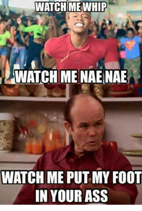 My Foot In Your Ass