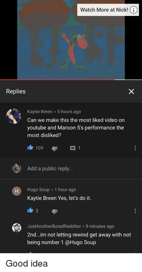 Watch More at Nick! O Replies Kaytie Breen 5 Hours Ago Can We Make