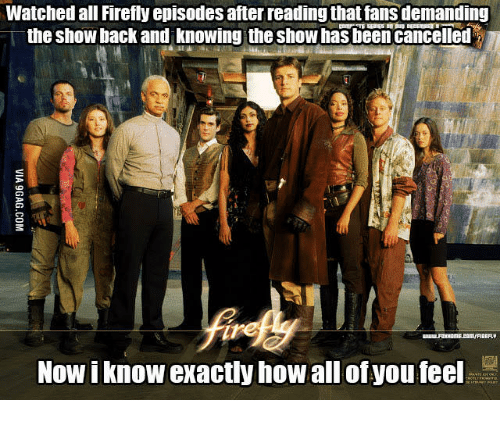 Watched All Firefly Episodes After Reading That Fans Demanding the