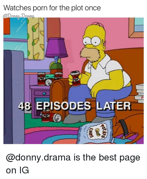 Memes  F0 9f A4 96 And Drama Watches Porn For The Plot Once 48 Episodes Later