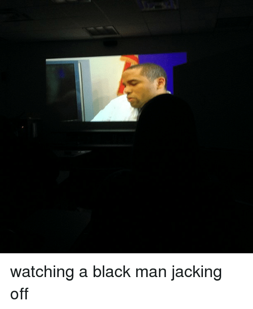 Black men jacking