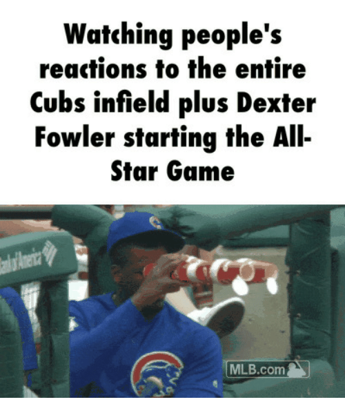 watching peoples reactions to the entire cubs infield plus dexter 14790444 ✅ 25 best memes about tumblr giantess tumblr giantess memes