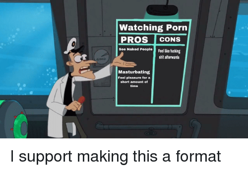 Opinion you Pros and cons of watching porn was mistake