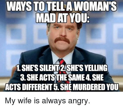 wife always angry