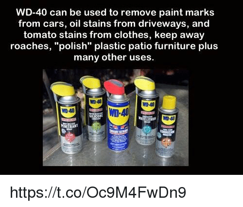 Cars Clotheemes Wd 40 Can Be Used To Remove Paint