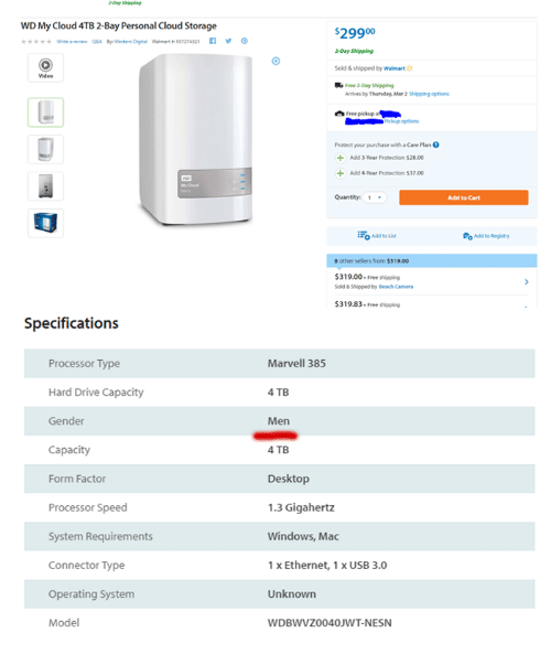 WD My Cloud ATB2-Bay Personal Cloud Storage Anriew Bh